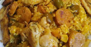 arroz recortes ecuatoriano